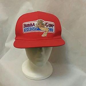 Bubba Gump Forrest Gump Red Snapback Hat Cap